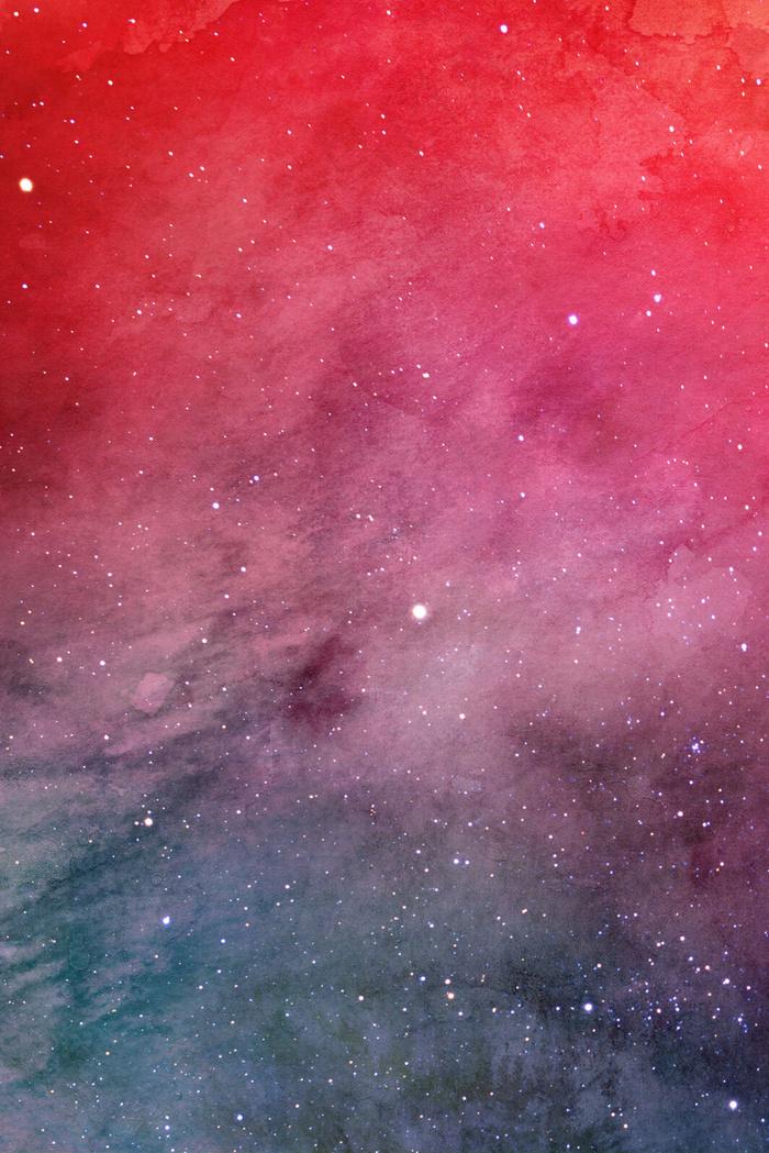 简约宇宙星云星空渐变溶图海报背景(3545*5315px       )psd模版下载