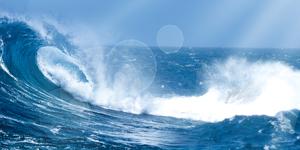 背景·通用海浪背景