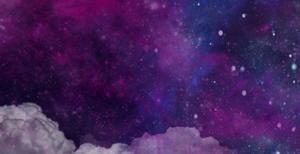 背景-紫色浪漫星河