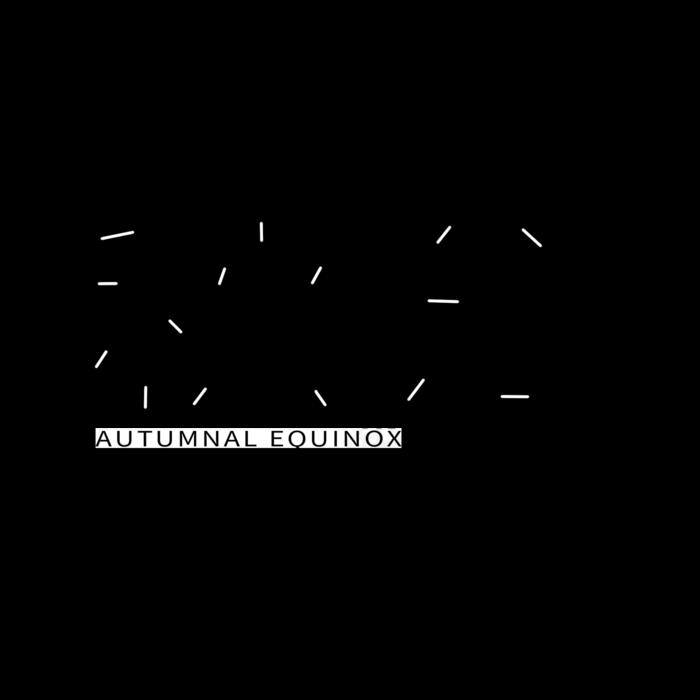 psd模版下载二十四节气秋分黑色创意艺术字字体元素(2000*2000px       )