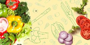 背景·蔬菜高清背景