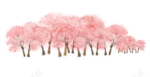 樱花免扣图